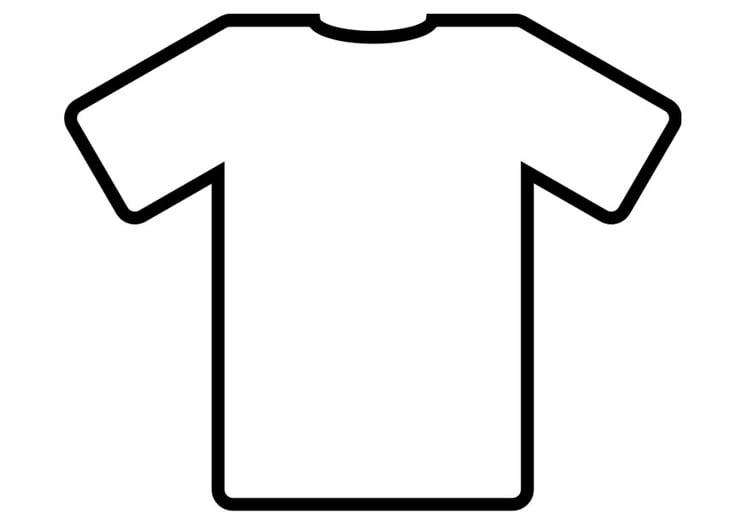 malvorlage t shirt zum ausmalen