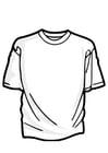 Malvorlage  T-Shirt