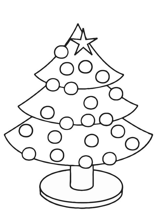 malvorlage tannenbaum - kostenlose ausmalbilder zum