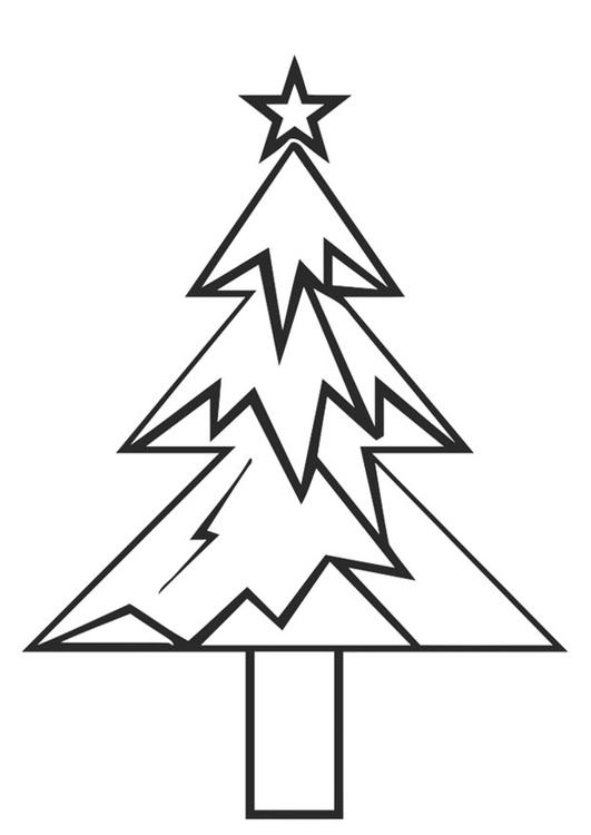 Weihnachtsstern Für Tannenbaum.Malvorlage Tannenbaum Mit Weihnachtsstern Ausmalbild 20402 Images