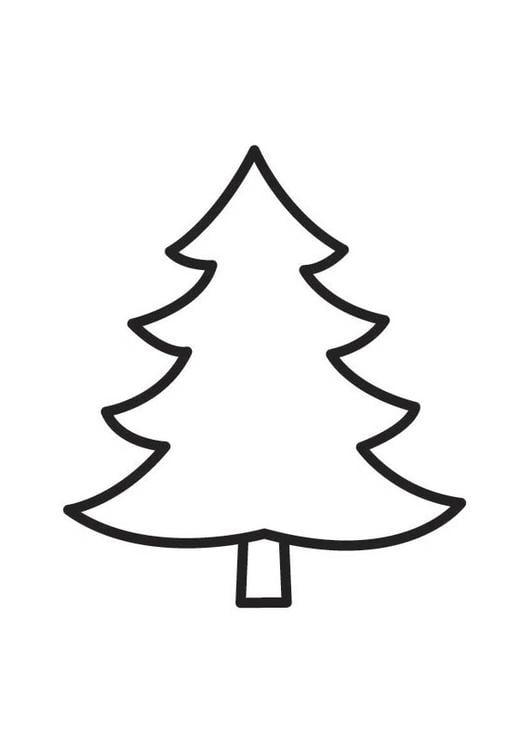 Malvorlage tannenbaum ausmalbild 18335 - Dessin sapin vert ...