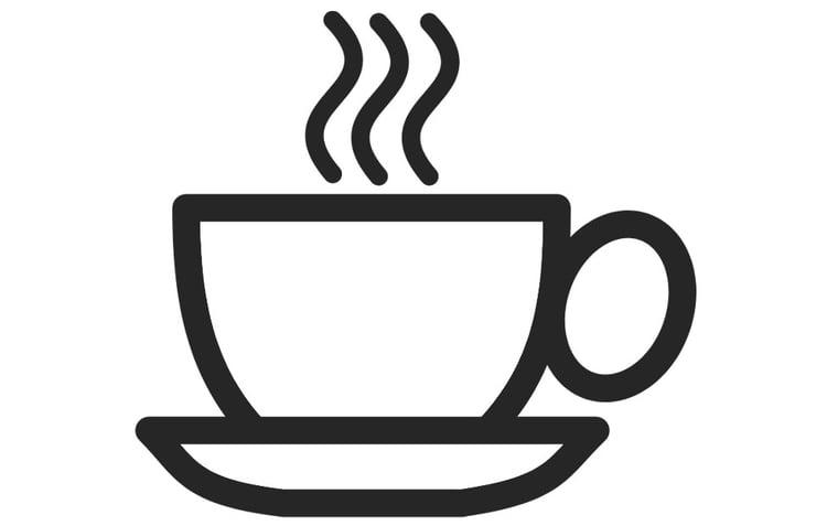 Tasse ausmalbild  Malvorlage Tasse Kaffee | Ausmalbild 22766.