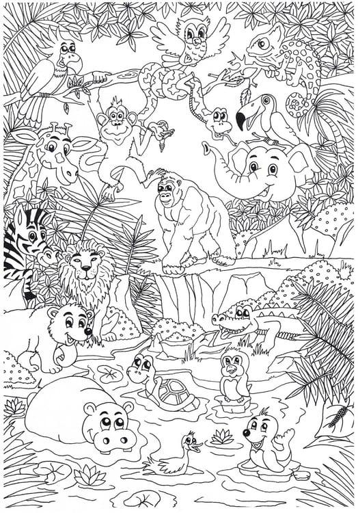226 malvorlagen von wildtiere  kostenlose ausmalbilder