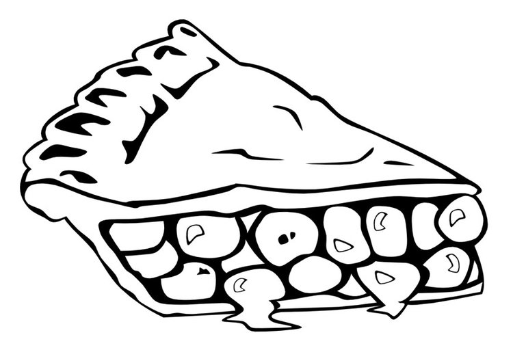 malvorlage torte  ausmalbild 10014