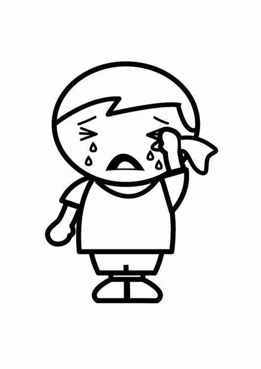 Kleine Tarzan Kleurplaat Malvorlage Junge Traurig Malvorlagencr