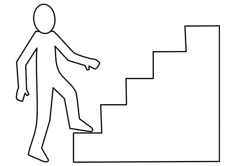 Malvorlage Treppe Kostenlose Ausmalbilder Zum Ausdrucken