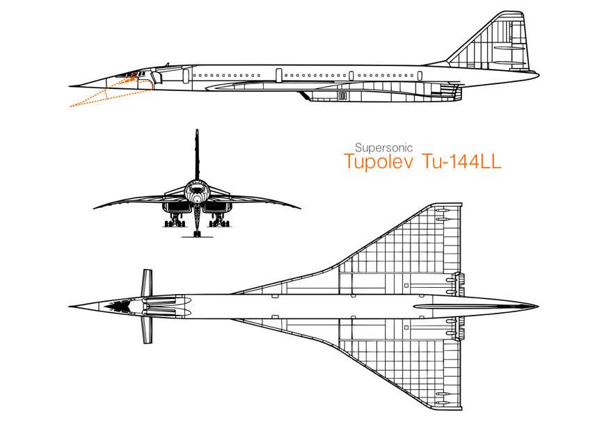 Malvorlage Tupolew Flugzeug Ausmalbild 10024 Images