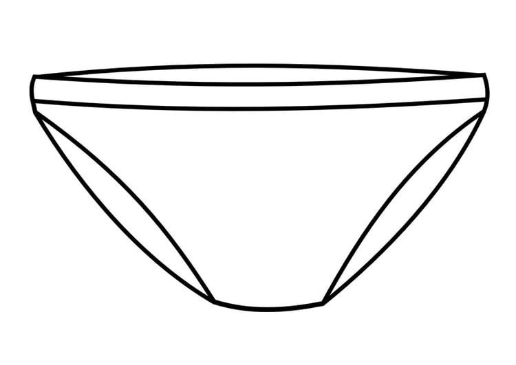 Malvorlage Unterhose Ausmalbild 28763 Images