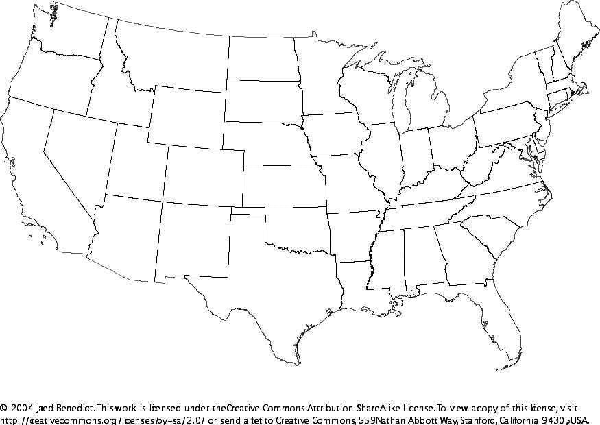 Charmant Karte Von Usa Malvorlagen Zeitgenössisch ...