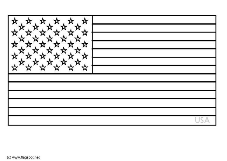 Beste Usa Flagge Malvorlagen Zeitgenössisch - Ideen färben ...