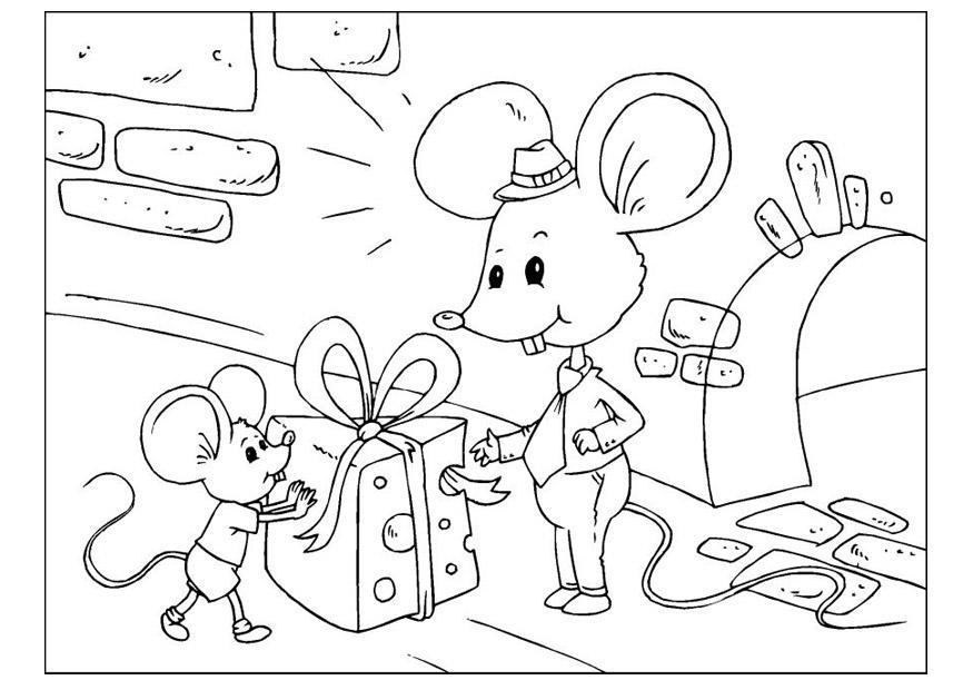 malvorlage vatertag  mäuse  kostenlose ausmalbilder zum
