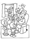 Malvorlage  Vatertag