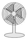 Malvorlage  Ventilator