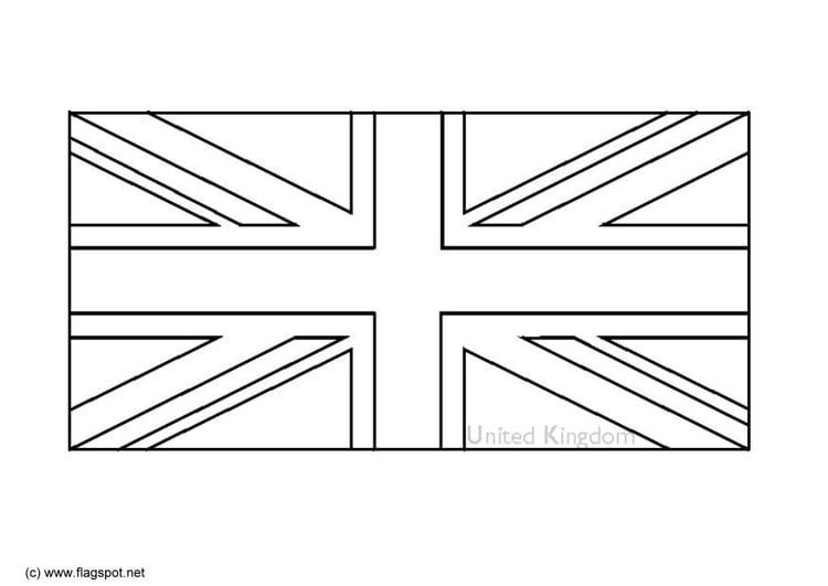 Malvorlage Vereinigtes Königreich Von England Ausmalbild 6164