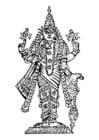 Malvorlage  Vishnu
