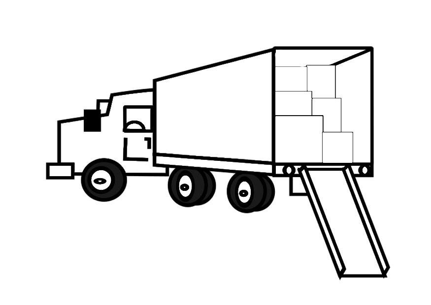 Kleurplaten Printen Vrachtwagens Kleurplaat Scania V8 Lkw Ausmalbilder Malvorlagen Von