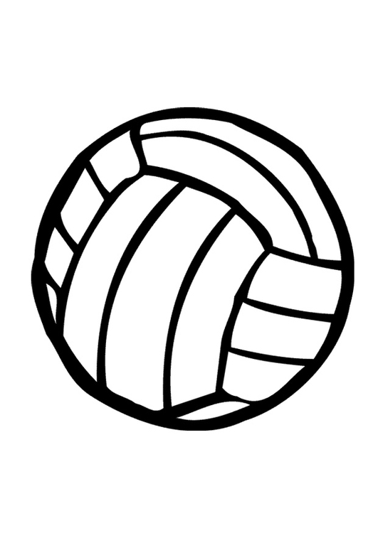 Malvorlage  Volleyball