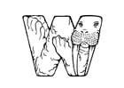 Malvorlage  w-walrus