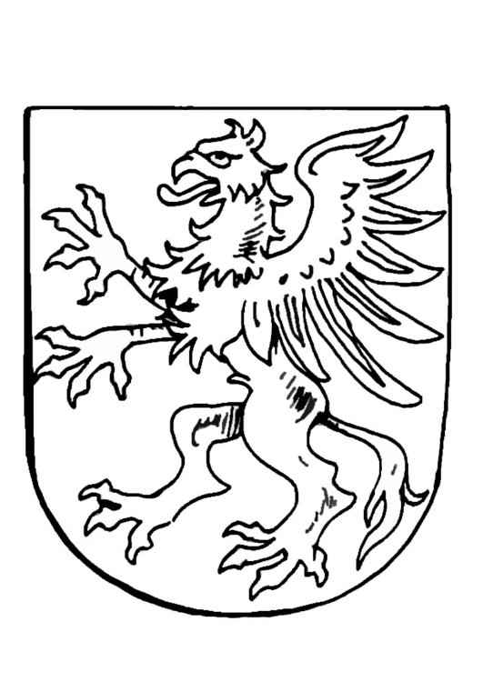 Wappen Zum Ausmalen