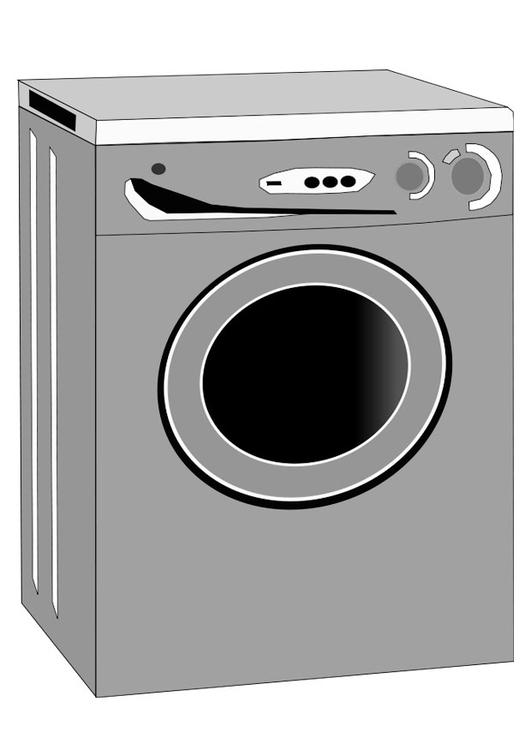 Malvorlage Waschmaschine Ausmalbild 22463