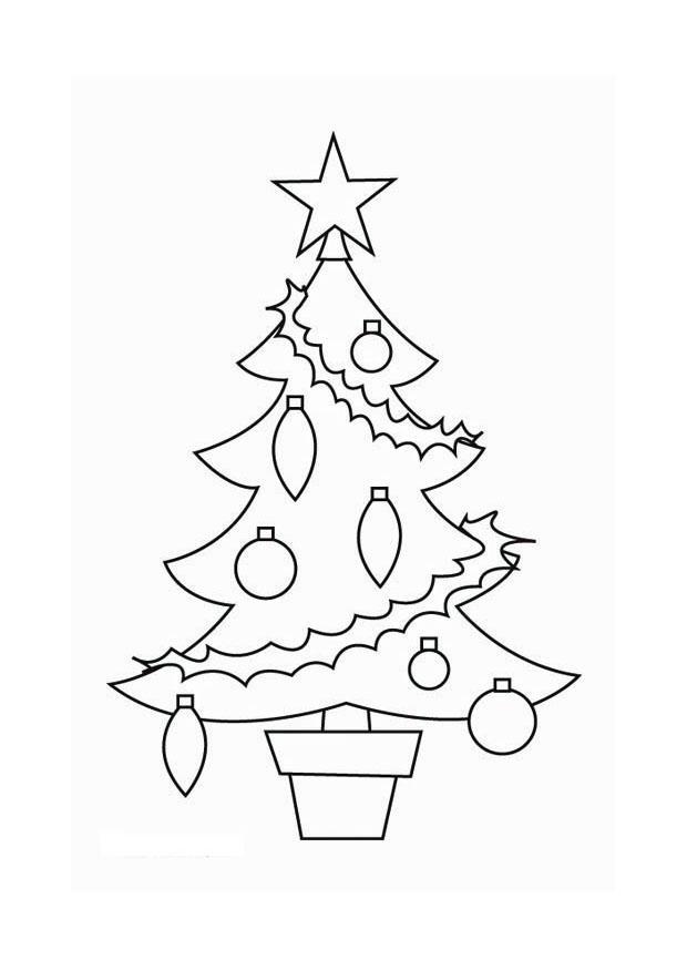 Malvorlage Weihnachtsbaum Ausmalbild 16537 Images