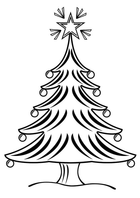 malvorlage weihnachtsbaum - kostenlose ausmalbilder zum