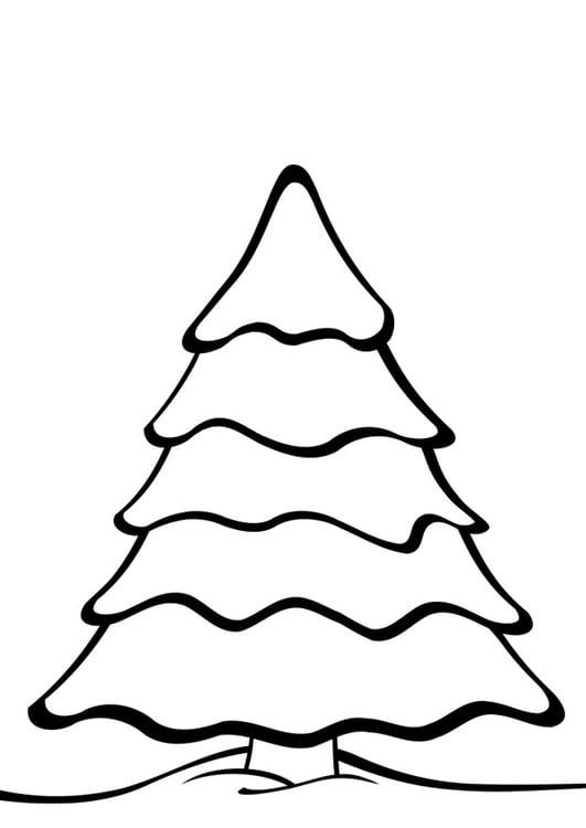 malvorlage weihnachtsbaum | ausmalbild 28169.