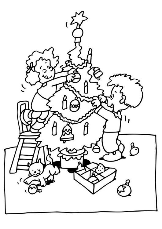 malvorlage weihnachtsbaum schm cken ausmalbild 6515. Black Bedroom Furniture Sets. Home Design Ideas