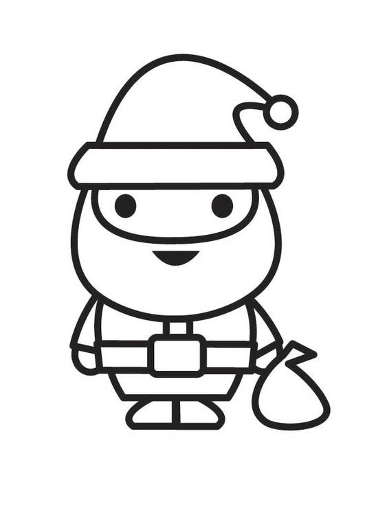 malvorlage weihnachtsmann  kostenlose ausmalbilder zum