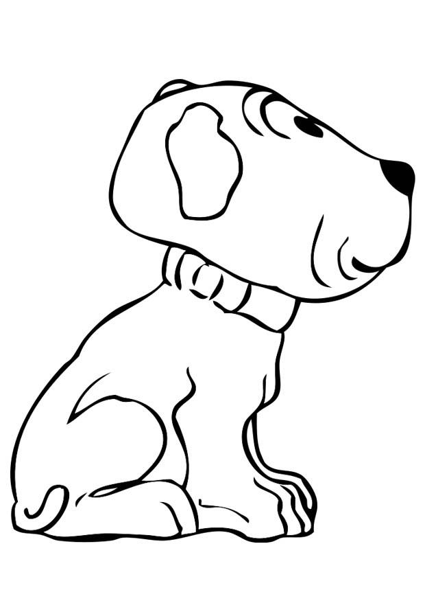 ausmalbilder hunde welpen  zeichnen und färben