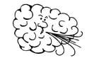 Malvorlage  Wind