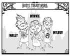 Malvorlage  Winnie - Wally - Wilbur