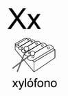 Malvorlage  x