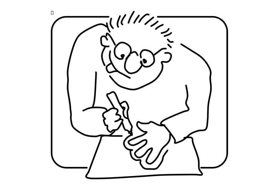 Malvorlage Zeichnen   Ausmalbild 22746.