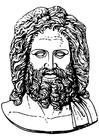 Malvorlage  Zeus