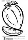Malvorlage  Zucchini